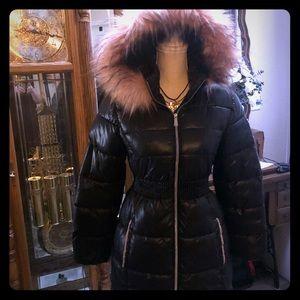 Michael Kors puffer long coat